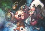 Dream Land, 2011, Oil on canvas, 200x300cm