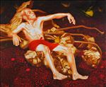 หลง 2, Delusion 2, 2009, Oil on canvas, 170x150cm