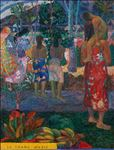 Paul Gauguin : Ia Orana Maria (Hail Mary) : 1892, 2020, Oil on linen, 68x52 cm.