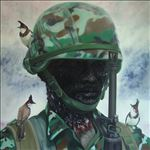 ท.ทหาร/Soldiers, 2013, Oil on canvas, 200x200 cm.