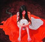 Red, Kiatanan Lamchan, 2009, Oil on canvas, 135x150cm
