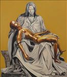 Pieta, 2013, Oil on canvas, 170x150cm