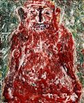 ท่านอ้วน/ The Fat Man, 2008, Acrylic and Tempera on Canvas,  110 x 90cm