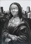 Mona Lisa, 2014, Drawing, 94x73cm