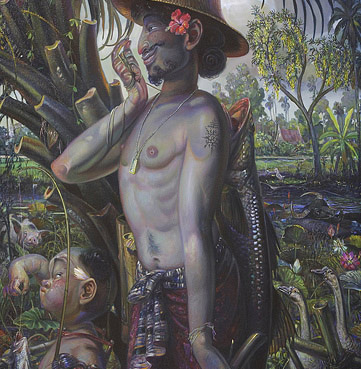 farmer, 2008, Oil on Canvas, 160x75 cm