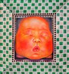 เด็กกล่อง, Block Baby, Chainarong Konklin, 2009, Oil on canvas, 85x80cm
