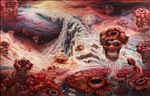 Heaven or Hell, 2012, Acrylic on canvas, 135x210cm