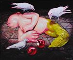 สภาวะโลกร้อน สภาวะ 2, Environmental Impact Upon Life II, Waiyawut Promrat, 2009, Oil on canvas, 150x190cm